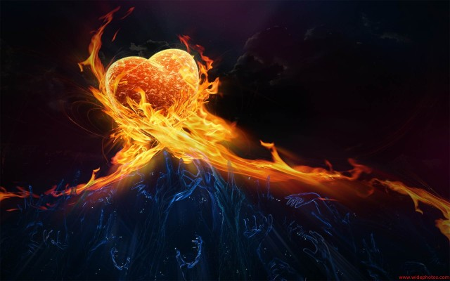 awesome-fire-heart